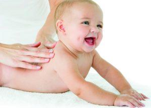piel del bebé